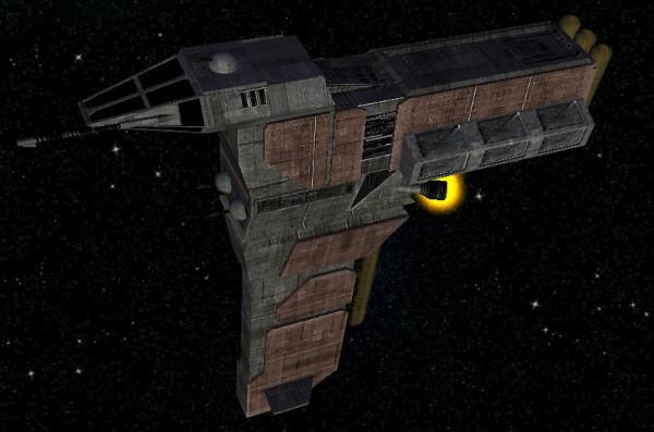 Y-8 Mining Ship