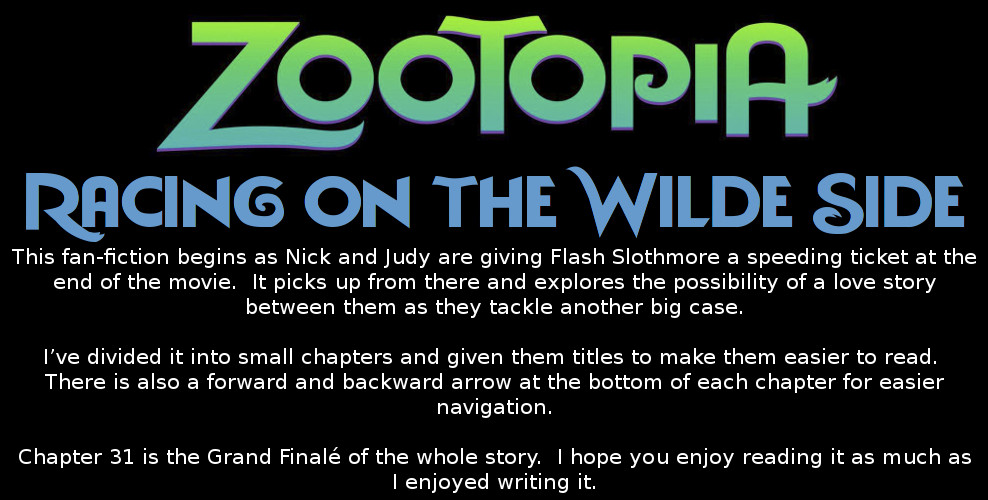 Scribe of Texas Zootopia Fan Fiction Page Header