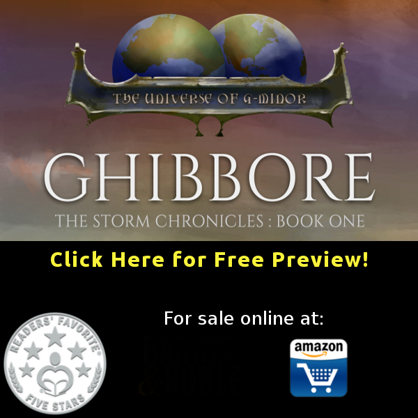 Preview First Five Chapters of Ghibbore for Free