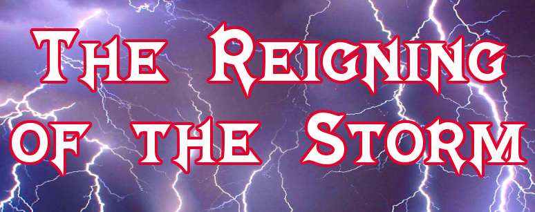 Scribe of Texas Poem - The Reigning of the Storm