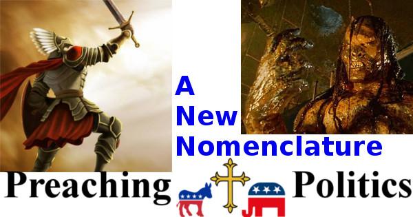 Scribe of Texas Preaching Politics - A New Nomenclature