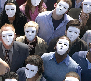 Crowd Face Mask